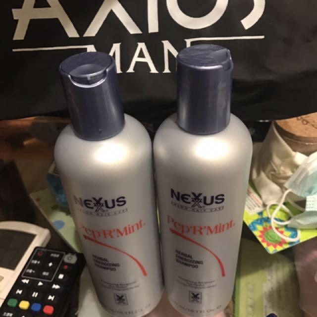 Nexxus薄荷清爽洗髮精