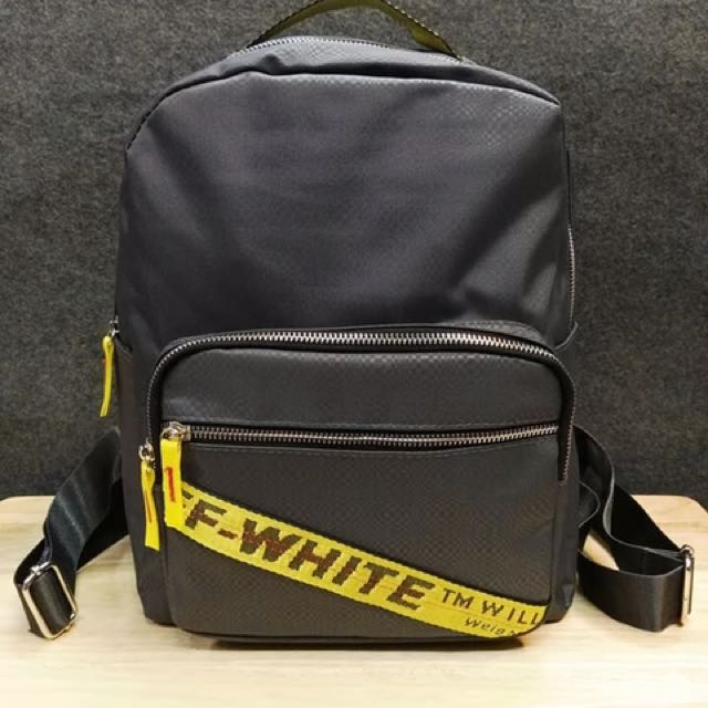 offwhite backpack preloved women 39 s fashion bags. Black Bedroom Furniture Sets. Home Design Ideas