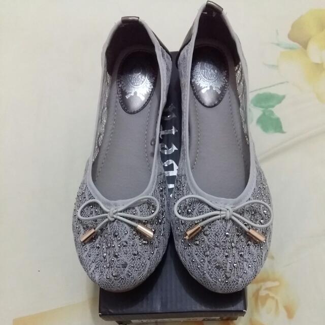 Opera Lace Flat Shoes