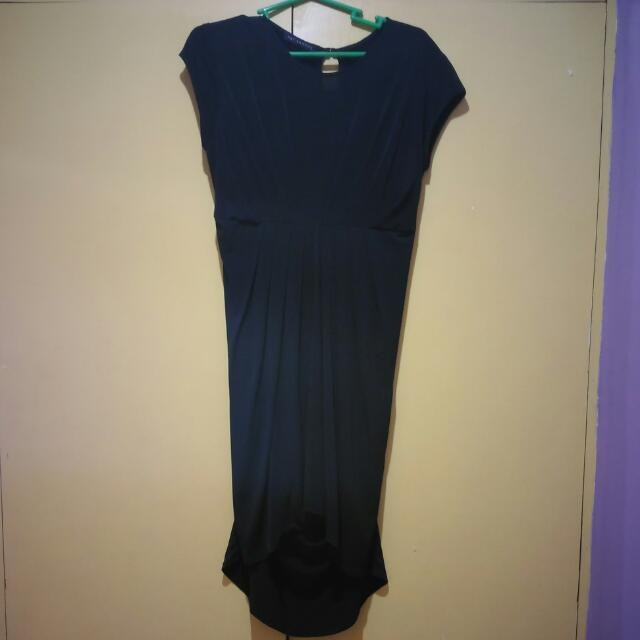 Pat Santos Black Dress