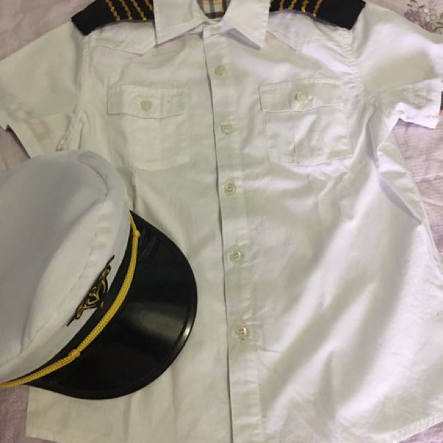 Pilot Costume For 5-6 Years Old