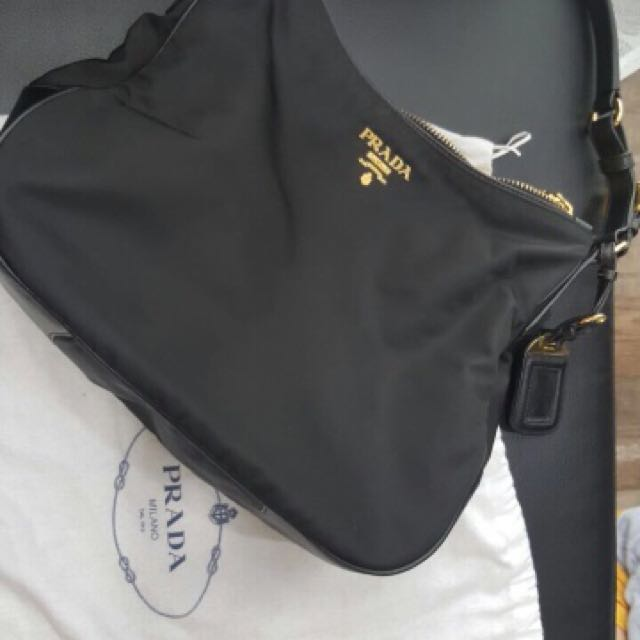 ddaf0617d674 ... italy nego pre love prada bag br4987 tessuto saffiano hobo bag luxury  bags wallets on carousell