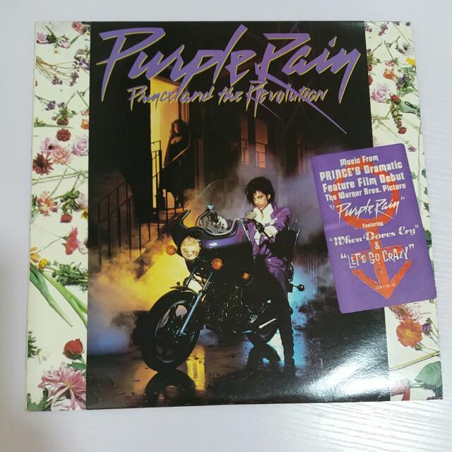 Prince & The Revolution 王子 Purple Rain 黑胶唱片,95%新