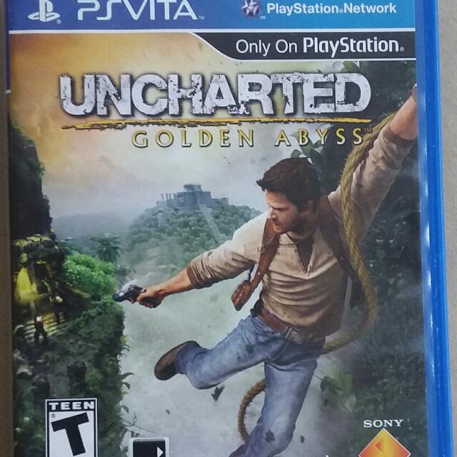 Ps Vita Game Uncharted Golden Abyss
