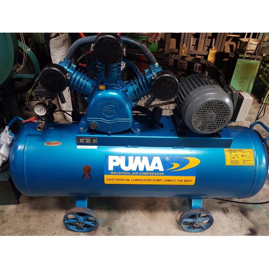 PUMA空壓機 5HP/223L 3相220V