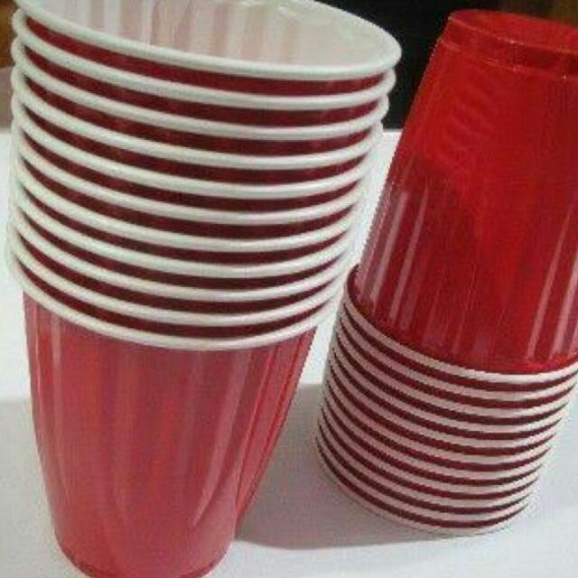 RED CUPS (Beer Pong) 🍻