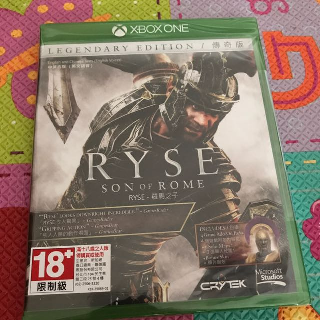 羅馬之子 RYSE Son of Rome Xbox One