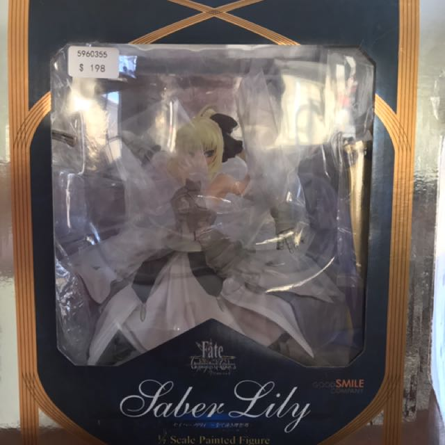 Saber Lily Of Fate Unlimited Codes