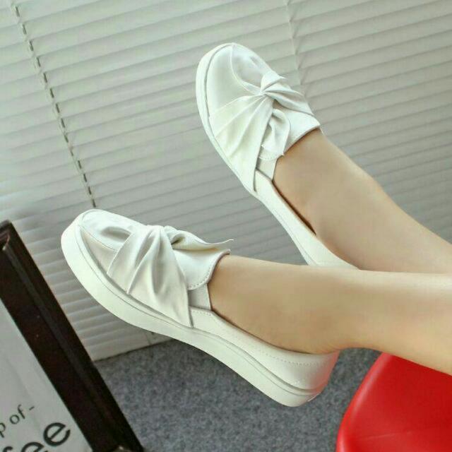 Sepatu Putih Kets Poxing JOICE White BM