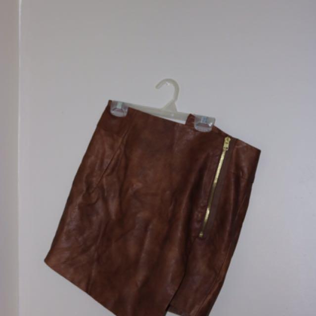 Shaped Skirt