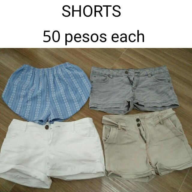 Shorts 50 Php Each