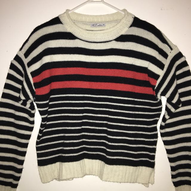 Striped Winter Jumper