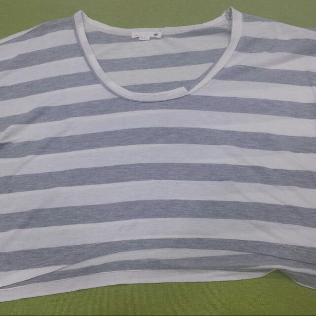 Stripes Crop Top...