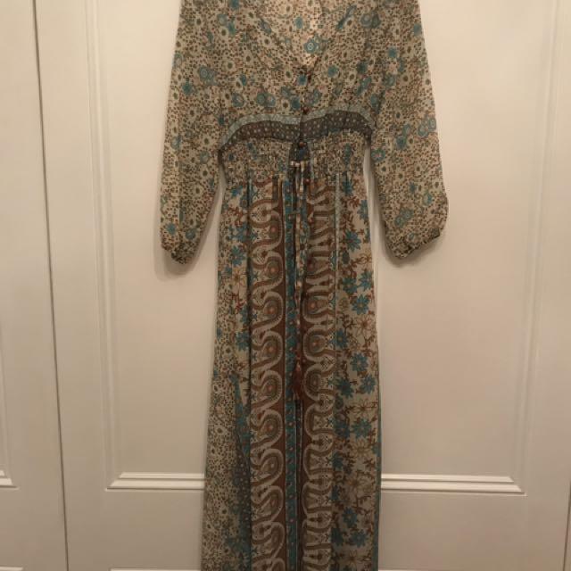Summer Sheer Maxi Dress