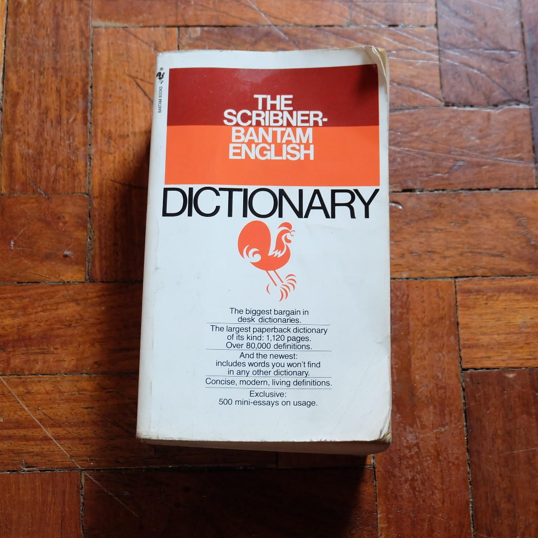 The Scribner-Bantam English Dictionary (FREE SHIPPING W/IN MM) on