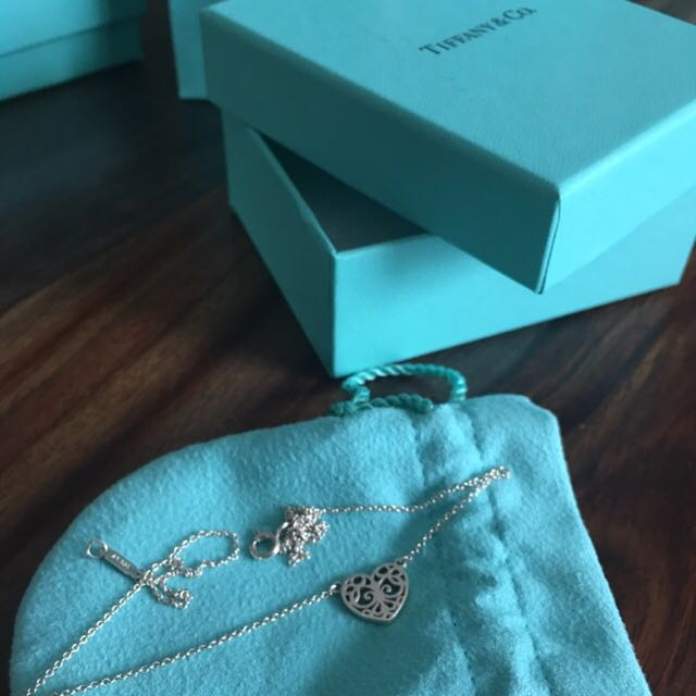 Tiffany and co necklace enchant