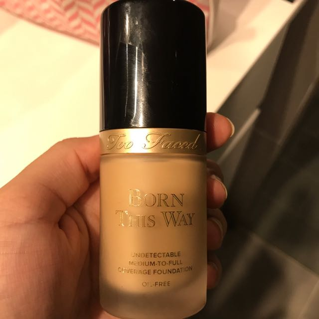 too faced foundation