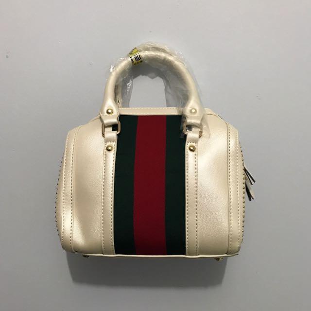 Top Handle Small Hand Bag