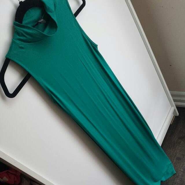 Long Turquoise Dress