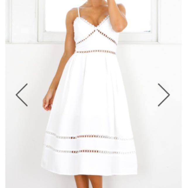 White Showpo Summer Dress