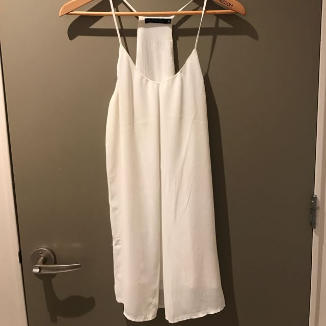White Slip Dress