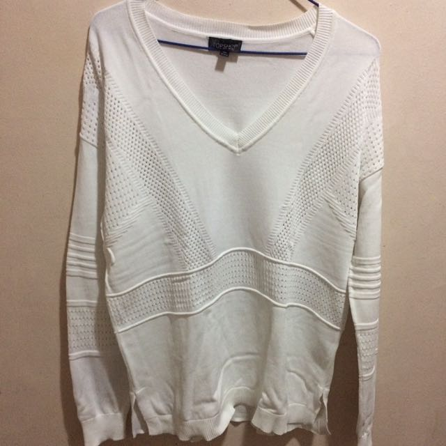 White Sweater Topshop