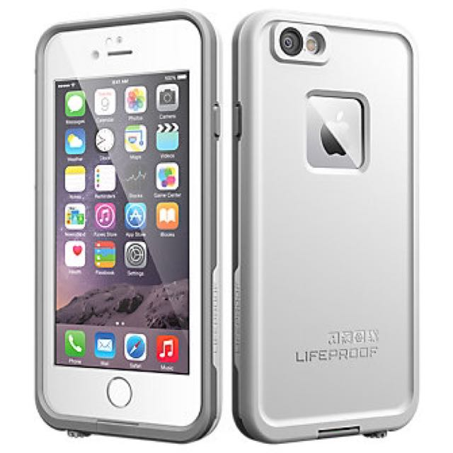 newest baa9e f5537 WTS: IPhone 6s Plus lifeproof Fre White Case