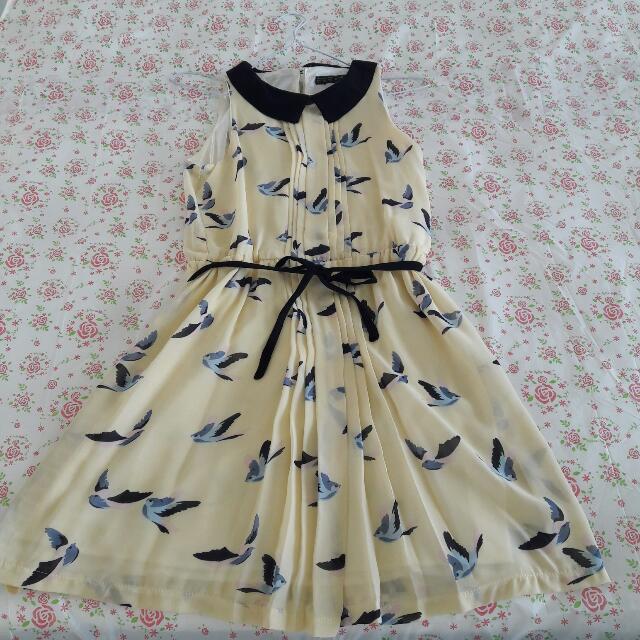 Zara Yellow Pastell Dress