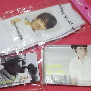 HCY Sock, Luggage Tag and Tissue