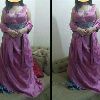 Brand new Long Gown With Sash..TOP TATO brand Bought I'm DUBAI .