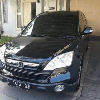 Honda CRV 2.4 Matic Th 2008 Hitam