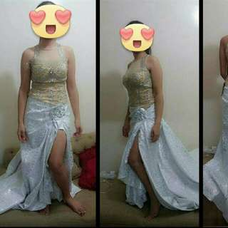 Studed Long Gown brand New With Tags. TOP TATO Brand