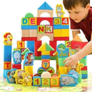 Kids Bucket Building Blocks