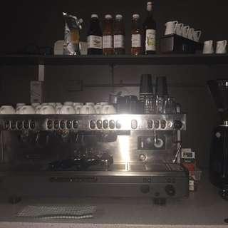 Italian 'La Cimbali' Coffee Machine