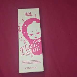 Y.E.T Flash On Whitening Cream (NEW)