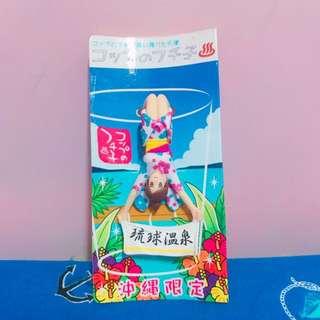 (二手)沖繩帶回 杯緣子 扭蛋 沖繩限定 琉球 溫泉
