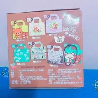 (全新)拉拉熊 隱藏版 7-11 購物袋 環保袋 歡呼篇 送拉鍊袋