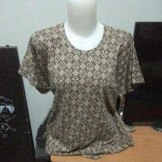 Kaos Batik Uk L-XL
