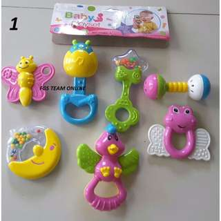 Mainan Bayi Rattles / Mainan Kerincing Bayi