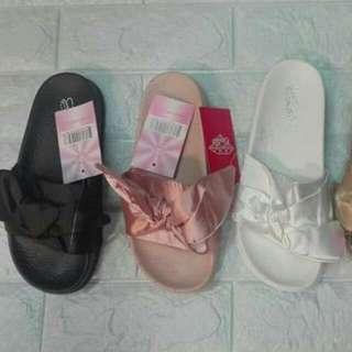 PUMA Fenty/ Bow Slide Slippers CLASS A