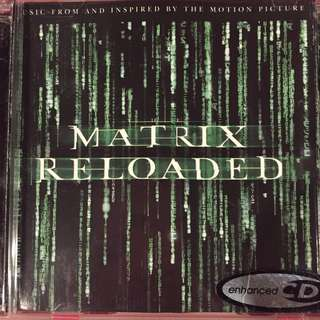 Matrix Reloaded 2-cd set Original Soundtrack OST CD
