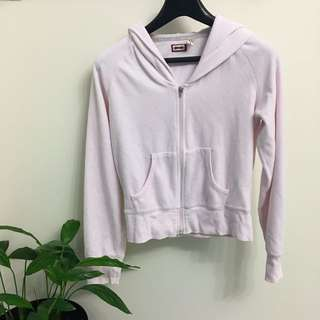 Baby Pink Cropped Sweater