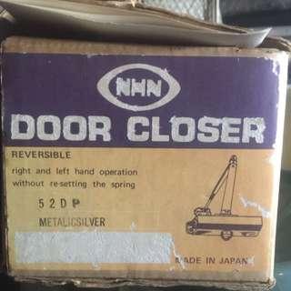 NHN Door Closer Right & Left Hand Metal Silver NEW