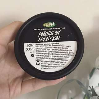 LUSH Angels on Bare Skin || Face And Body Cleanser