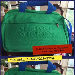Tunited Colora Of Benetton ravelling Bag