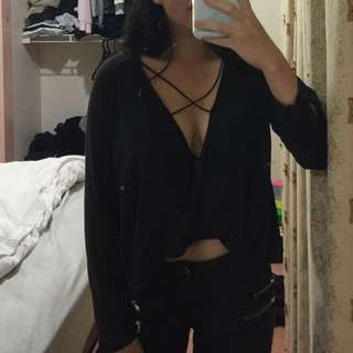 Urban Outfitters Cross Top