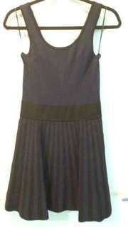 Guess Purple & Black Dress