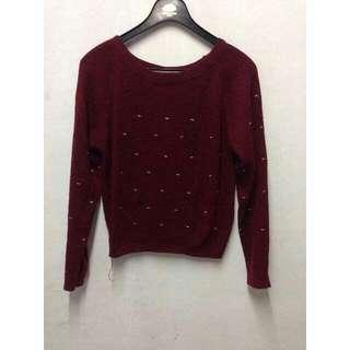 #ODS Sweater Maroon