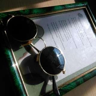 復古 古董老品眼鏡