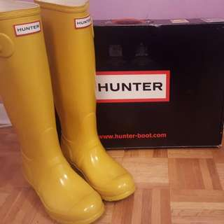 Hunter Boots Tall - Size 37 (EU)